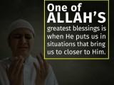 الله با صدای بلند اینگونه ما را خطاب می کند: داخل شوید بندگانم! داخل شوید…