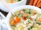 طرز و تهیه سوپ برنج